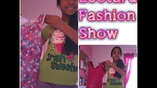 leotard fashion show
