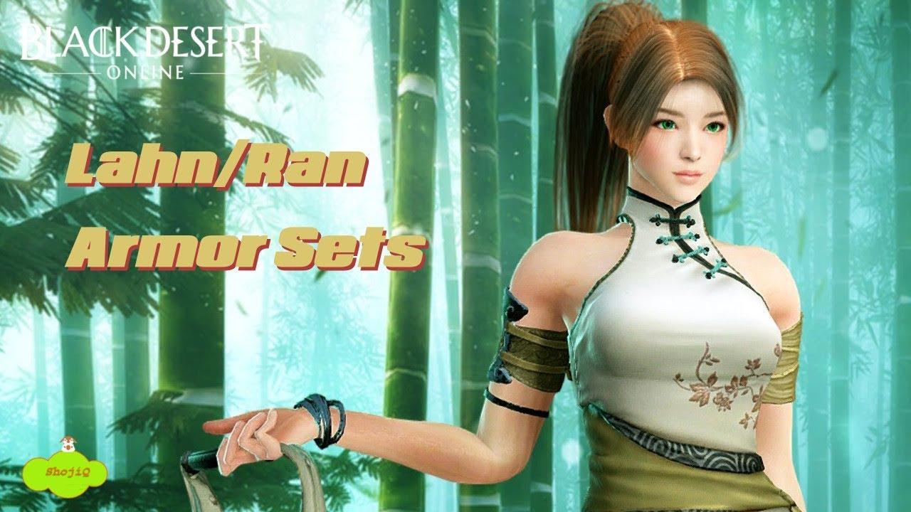 Black Desert Online - Lahn/Ran FREE Armor Sets [KR]