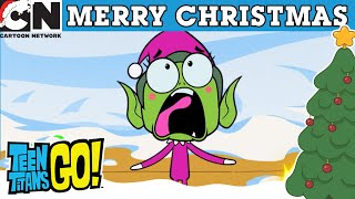 Teen Titans Go! | Evil Santa | Cartoon Network UK