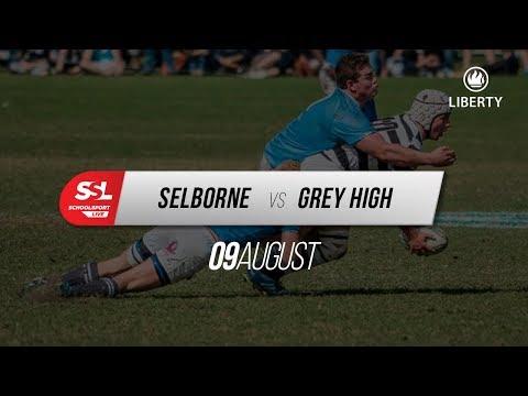 Selborne College 1st XV vs Grey High 1st XV, 09 August 2018