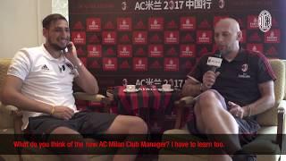 Player vs Legend: Donnarumma meets Abbiati