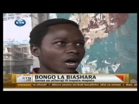 KTN LEO:17-year-old Creative Painting Artist from Uganda (In Swahili)