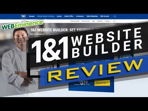 1&1 Website Builder REVIEW – My Impressions, PRICING, and MORE