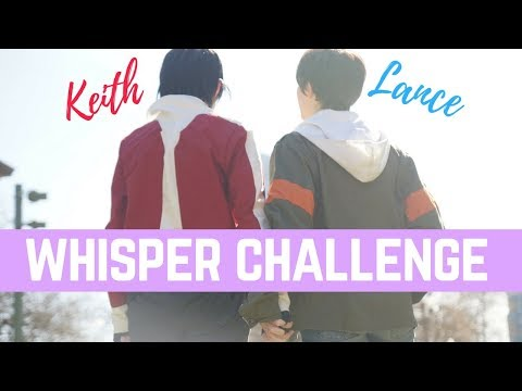 Keith and Lance | The Whisper Challenge | Radicalkevin Productions