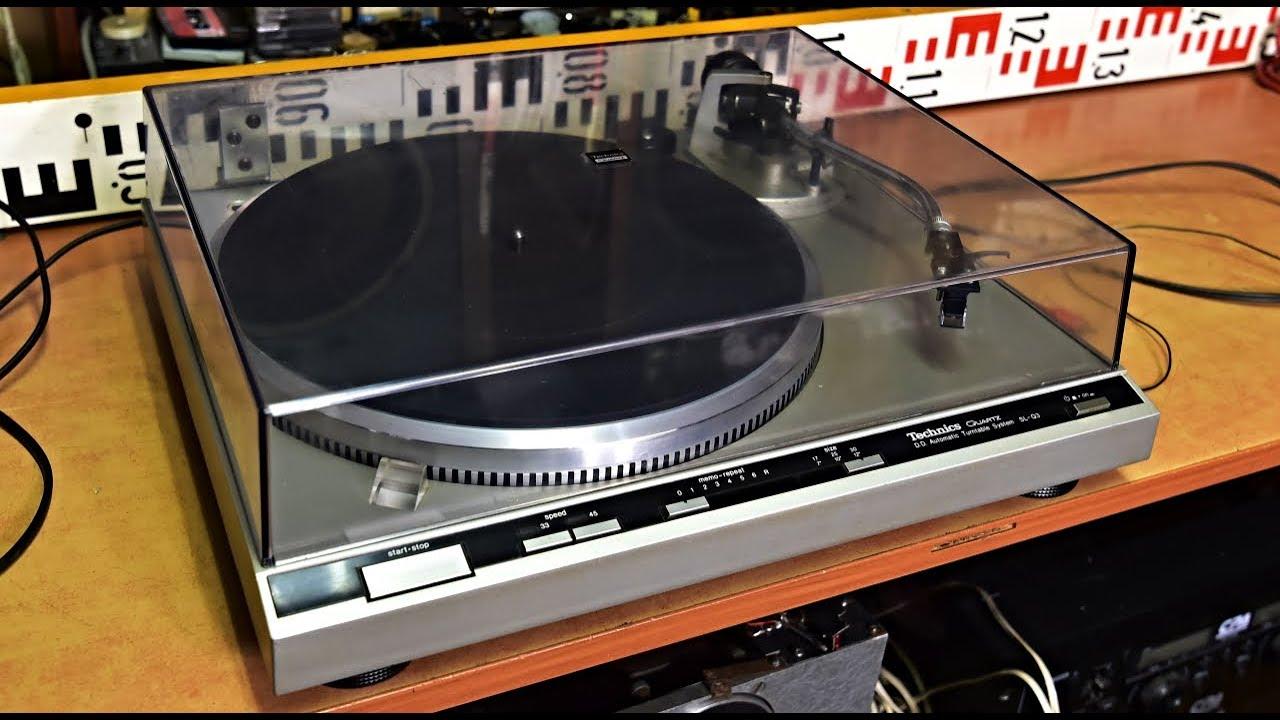 Technics SL-Q3 Direct Drive Automatic Turntable - Plattenspieler - Gramofon