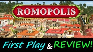 Romopolis - City Building Strategy Game! - First Play and Review!