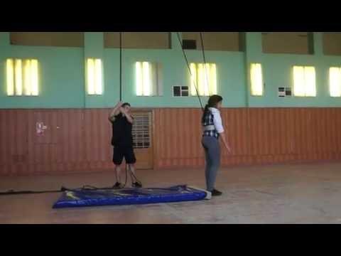 Клуб ПОЗИТИВ. Сборы-2016. Акробатика 3