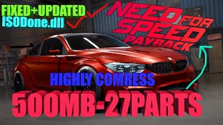 How to download nfs payback only 10 mb ultra highly