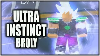 ULTRA INSTINCT BROLY CAC | Roblox Anime Cross 2 CAC Builds #1 | iBeMaine