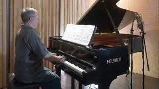 "Bach/Friedman ""Wachet auf, ruft uns die Stimme"" BWV 645 P. Barton, piano"