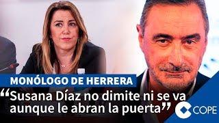 """Herrera, a Susana Díaz: """"¿No se puede pactar con Vox pero sí con Podemos?"""""""