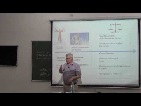 Personhood & Technology | GIAN | Prof. Gerard Quinn | Nalsar University