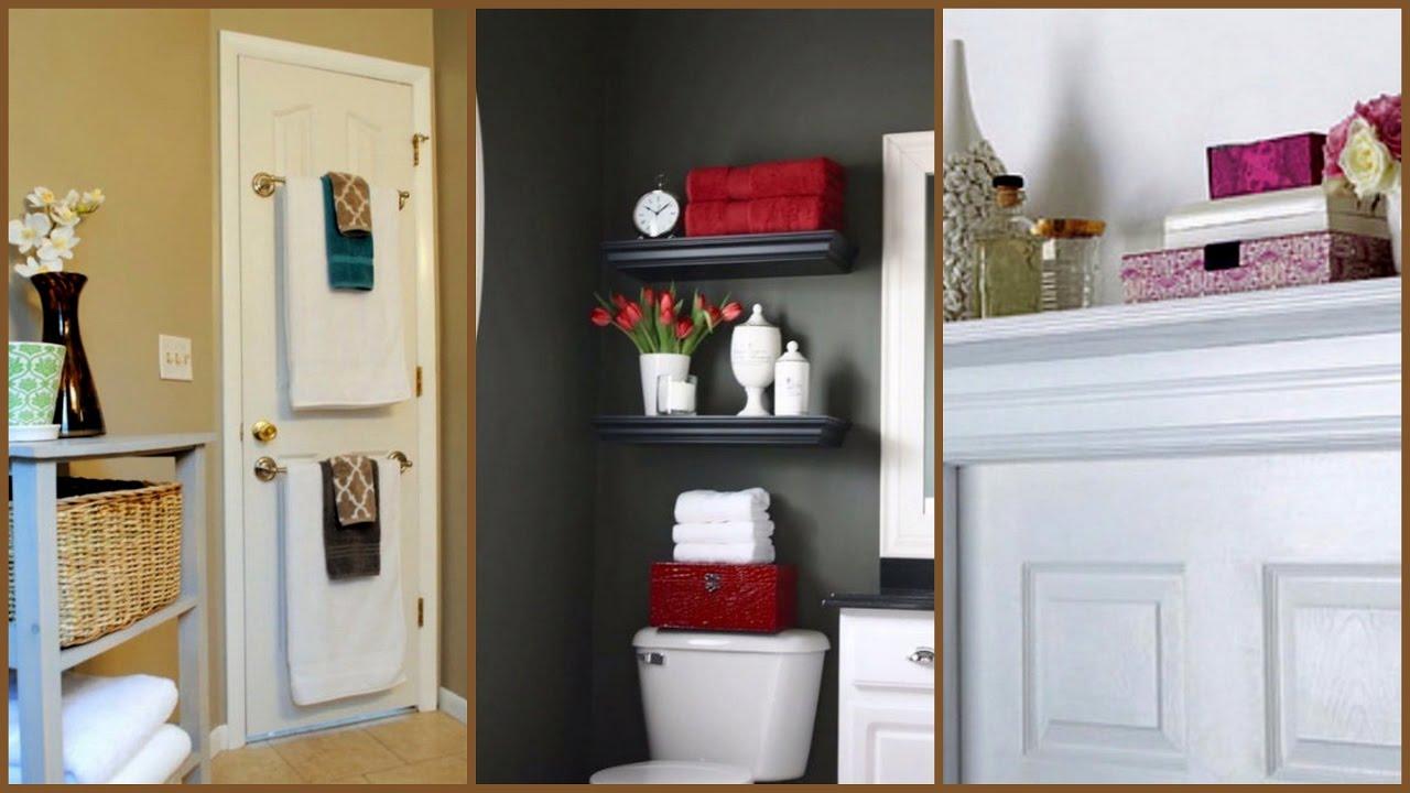 3 ideas de almacenaje para ba os peque os decora con for Almacenaje bano pequeno