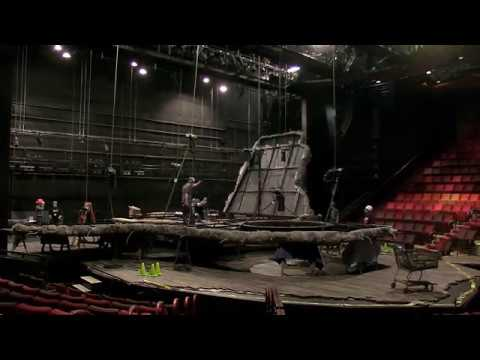Guthrie Theater: Time-lapse of the INDECENT Set