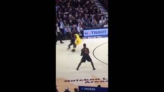 Indiana Pacers vs Cleveland Cavaliers - 2018 NBA Playoffs GM. 2 blooper