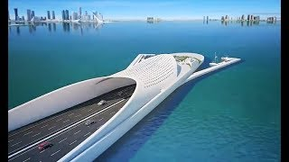 the doha sharq crossing qatar extraordinary mega project most beautiful bridge in middle east