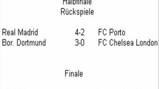 FIFA 14 (UEFA Champions League alle Rückspiel Ergebnisse Halbfinale)