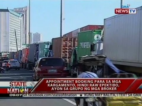 SONA: Port brokers, 3 araw na titigil magproseso ng kargamento bilang protesta sa booking system