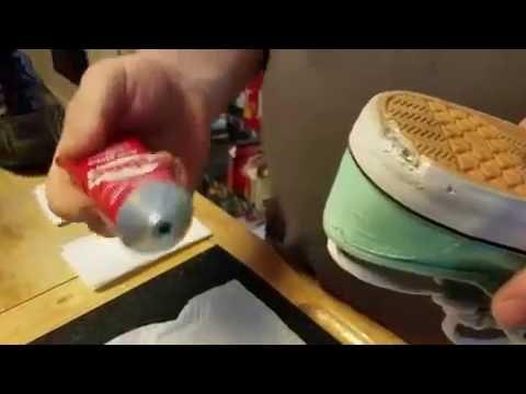 Super Glue Baking Soda Repair Running Shoes