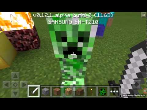 How to spawn steve in minecraft 0121  YouTube
