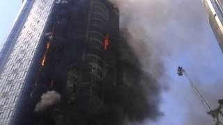 Пожар Одесса Gagarin-plaza Аркадия ч3