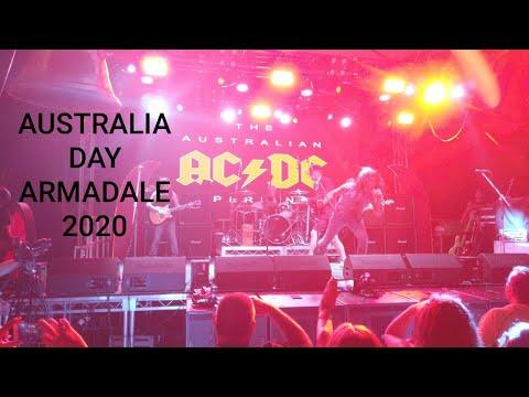Fireworks 2020 Australia Day