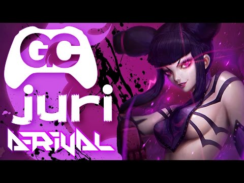 🎵 Street Fighter IV / V Remix 🥊 Juri (A_Rival Electro Trap Remix) - GameChops - 동영상