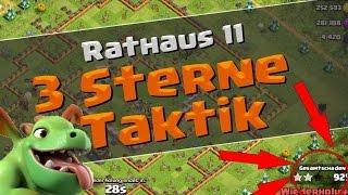 Clash of Clans | 3 Sterne Taktik für Rathaus 11! | Reazor [Deutsch/German|HD]