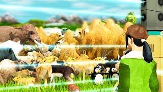 I Simulated Global Overpopulation Using Animals - Wildlife Park 3