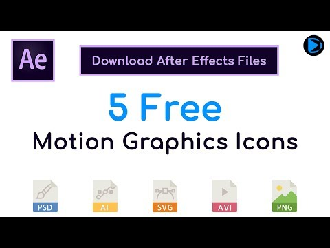 5 Free Motion Graphics Icon | DY Motion Graphics - YouTube