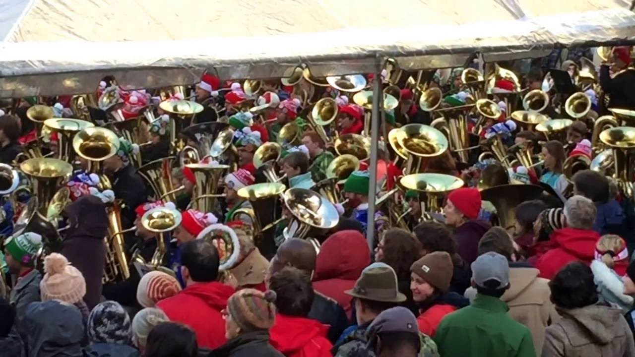 2016 Tuba Christmas Portland Oregon