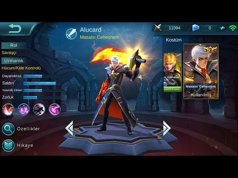 Mobile Legends Alucard 5vs5 new skin/Alucard'ın yeni kostümü 2.sezon