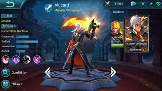 Mobile Legends Alucard 5vs5 new skin/Alucard'ın yeni kostümü 2.sezon
