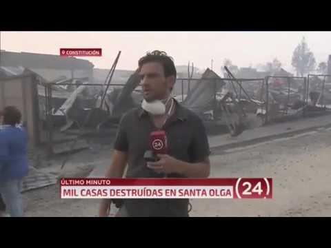 el gesto de un periodista chileno que dio que hablar en las redes sociales