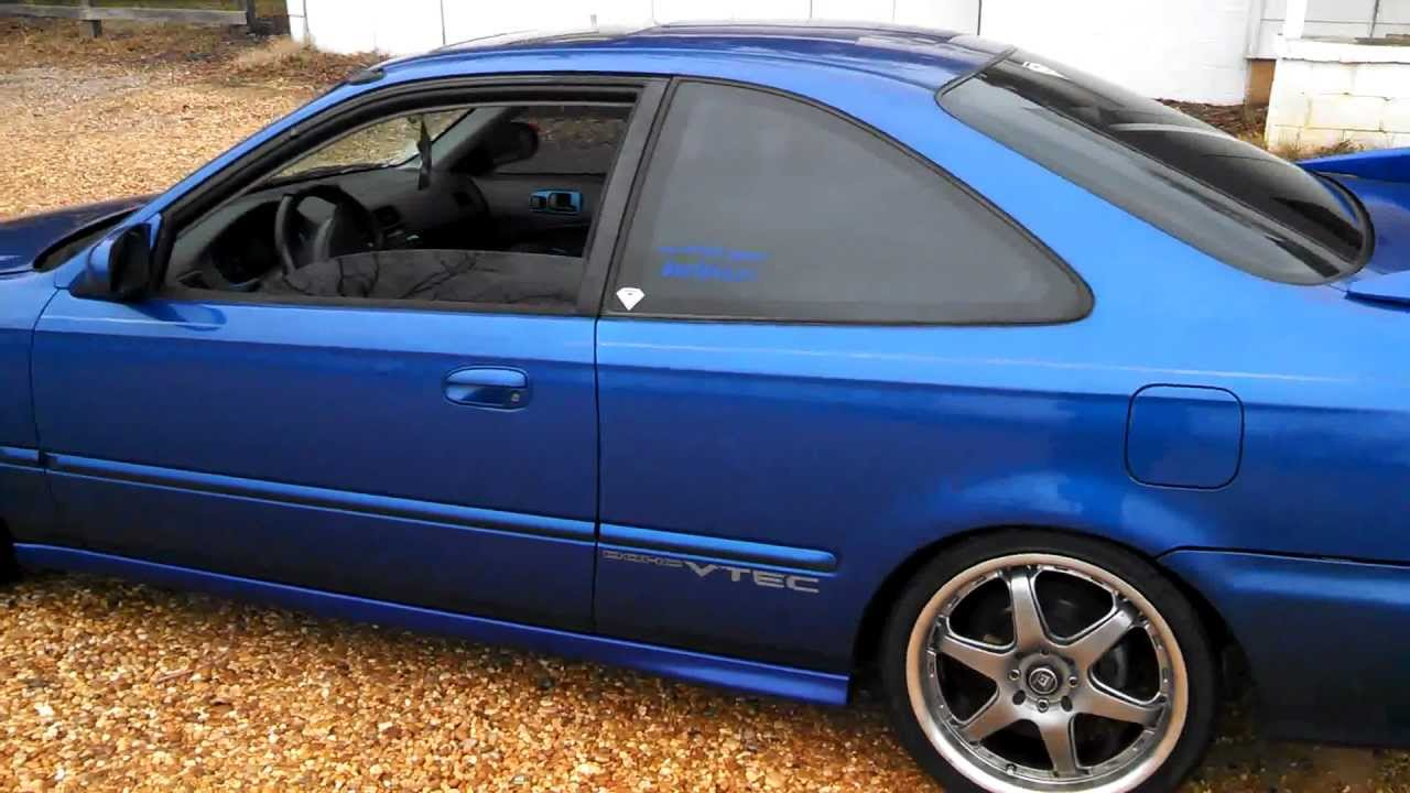 walk around of my 99 civic si jdm 98spec itr swap for. Black Bedroom Furniture Sets. Home Design Ideas