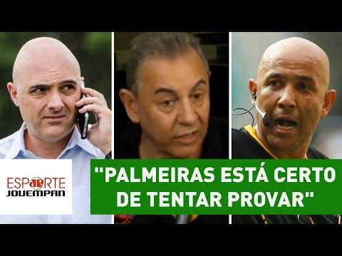 """""""Palmeiras foi lesado e está certo de tentar provar"""", diz Flavio Prado"""