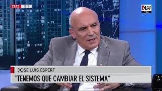 """José Luis Espert en """"Basta Baby"""" de Baby Etchecopar por A24, el 20 de marzo de 2019"""