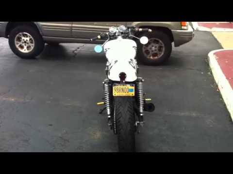92 Honda 750 Nighthawk Cafe Racer
