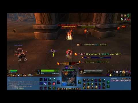 Warlock - DPS test DESTRUCTION
