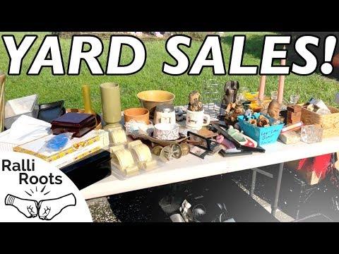 Yard Sale Haul July 2018 - Don't be a