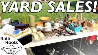 "Yard Sale Haul July 2018 - Don't be a ""Reseller Vulture"""