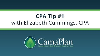 CPA Tip #1: EIN For Your IRA?