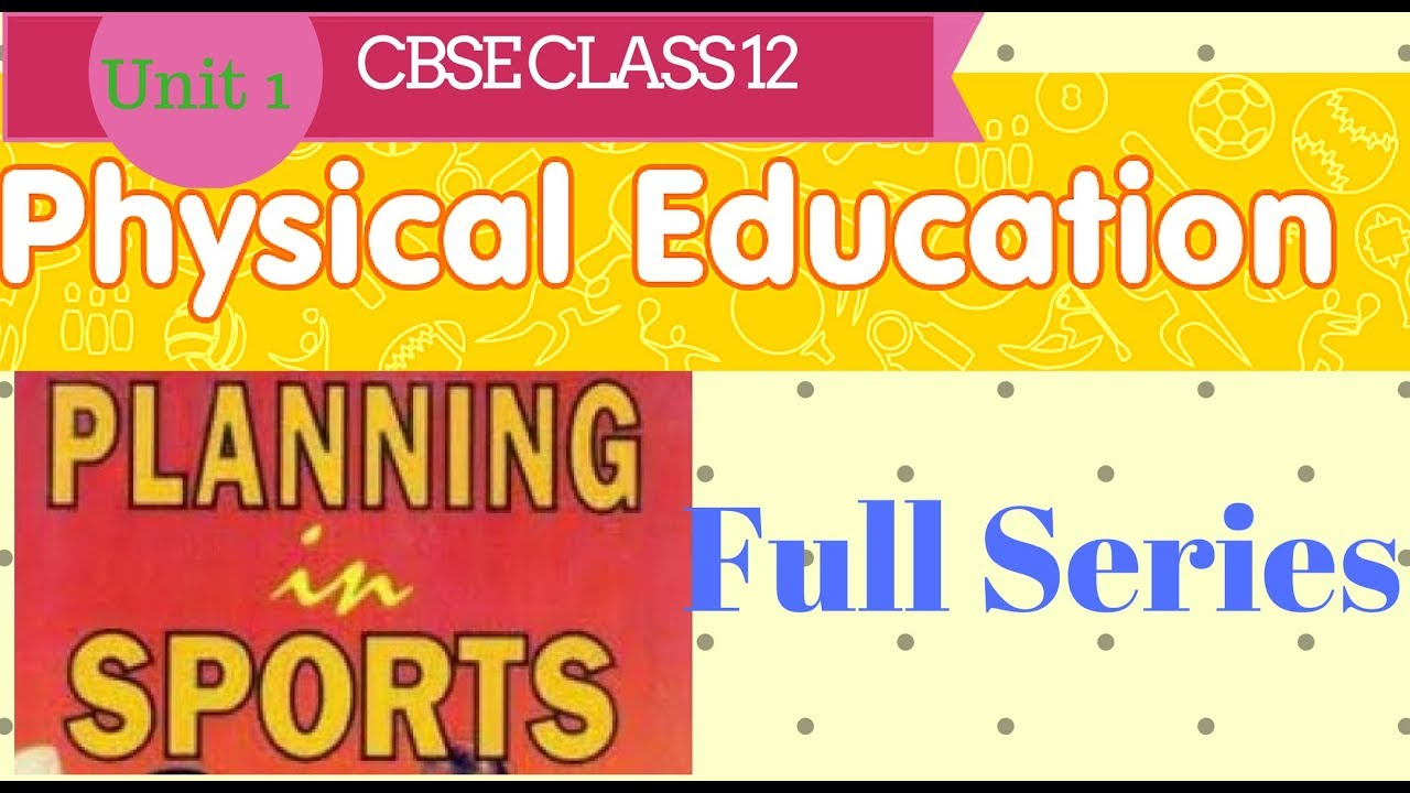 Physical Education Book For Class 12 Cbse In Hindi