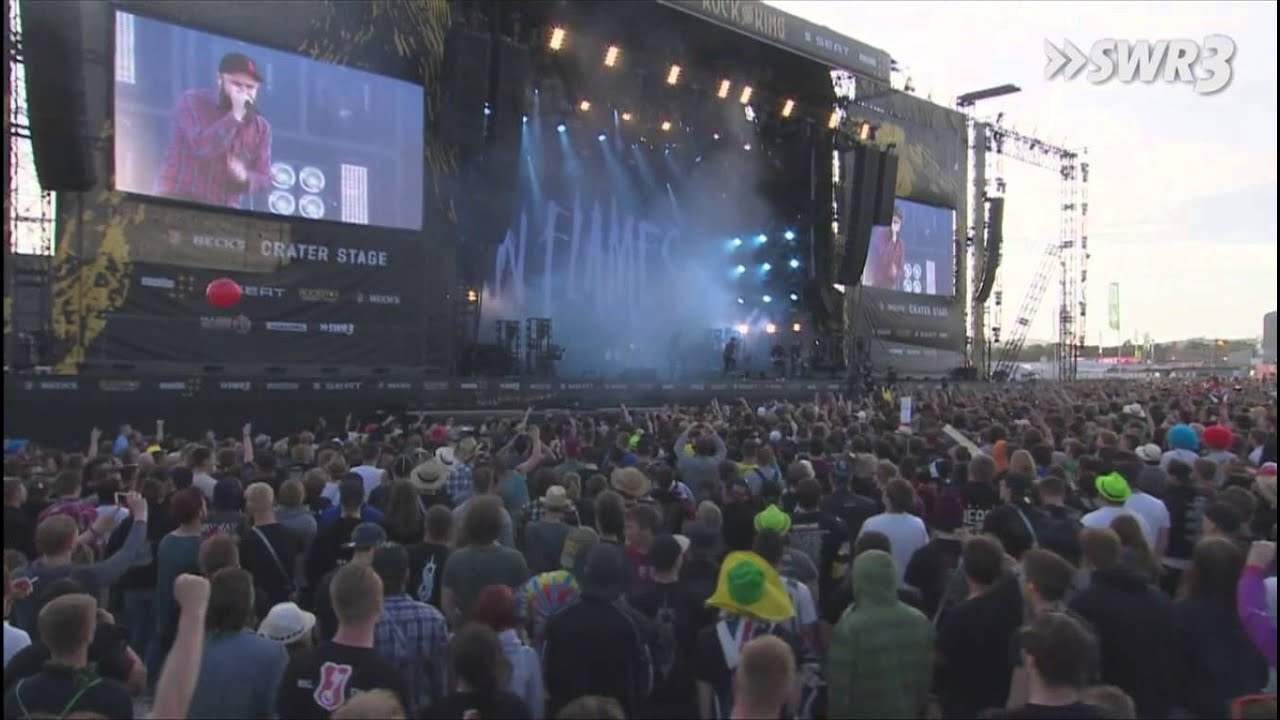 In Flames - Only For The Weak - Rock am Ring 2015 HD