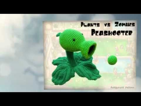Plants vs Zombies Peashooter Pattern - YouTube