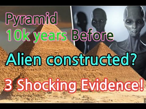 [Shock]The pyramids were constructed by...