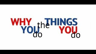 Why You Do What You Do - How body, soul, and spirit work