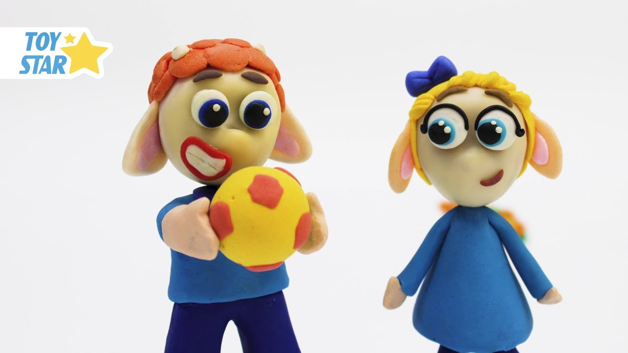 Princesa Dolly Cartoon Play Doh Stop Motion for kids #51
