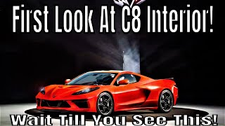 Mid Engine Chevrolet Corvette NEW INTERIOR Information!