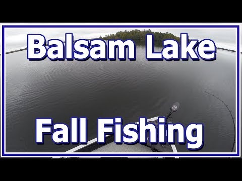 Balsam Lake Fall Fishing 2018